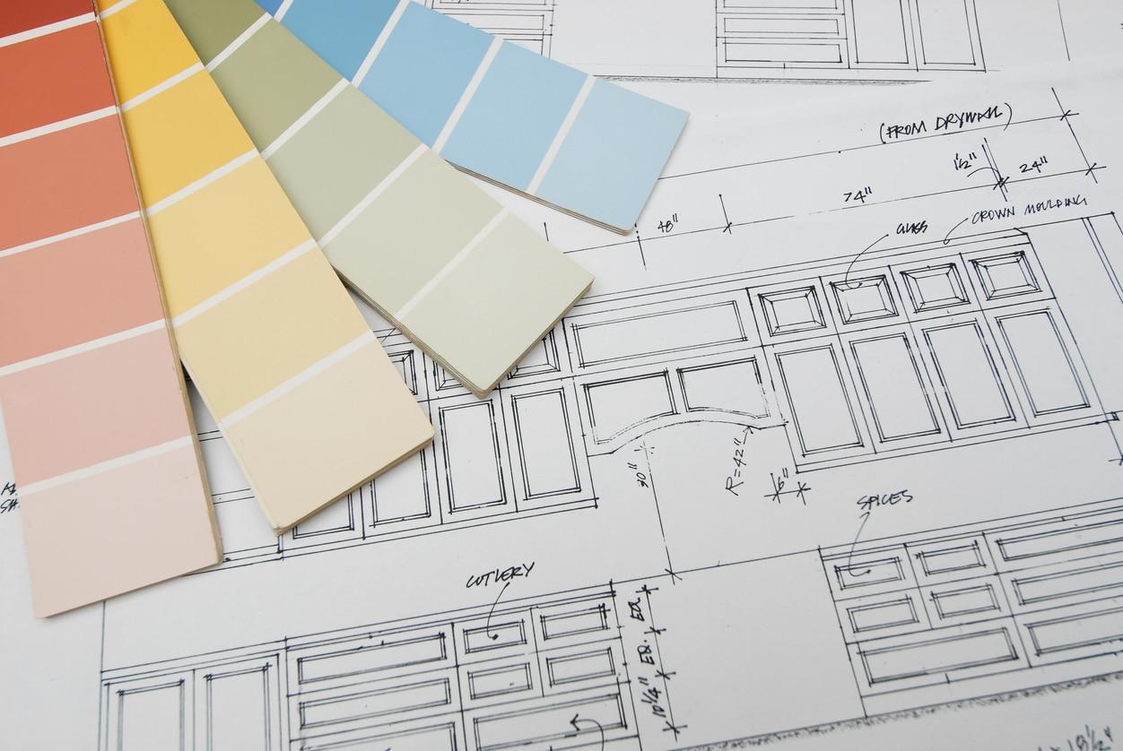 kitchen renovation blueprint